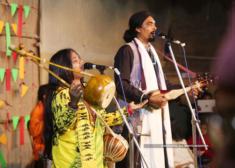 Musicians enthrall the audience at Baul Fakir Utsav