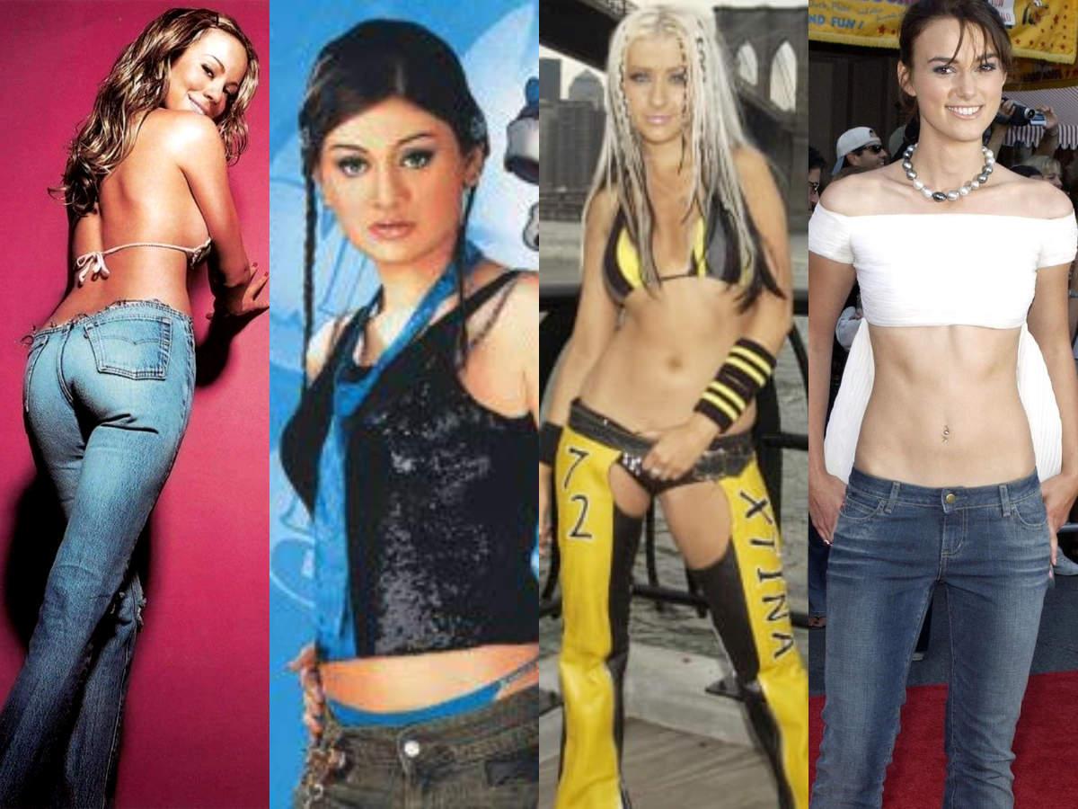 Mariah Carey, Shefali Jariwala,  Christina Aguilera and Keira Knightley