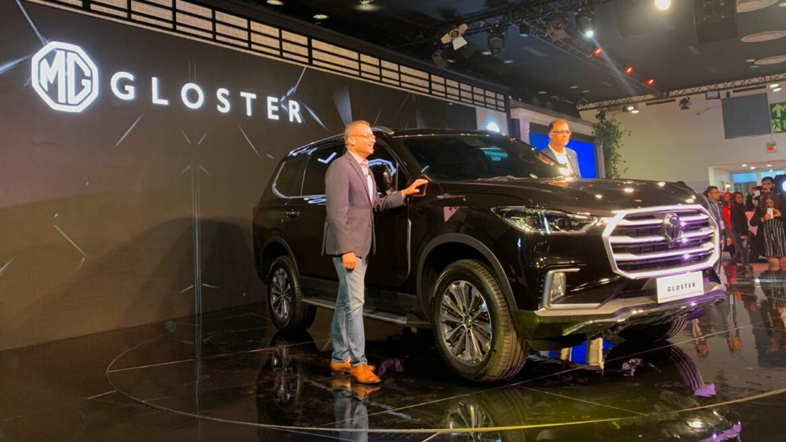 MG Gloster SUV Launch: MG Gloster SUV listed on website, India ...