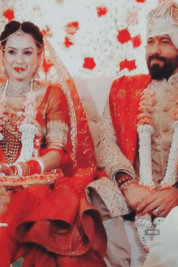 Inside pictures from Kamya Panjabi and Shalabh Dang's wedding ceremony