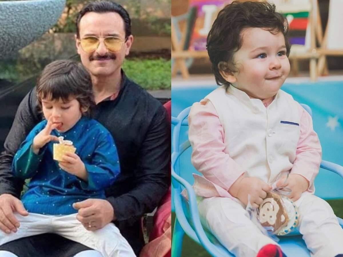 Saif Ali Khan and Kareena Kapoor's little boy Taimur Ali Khan has ...