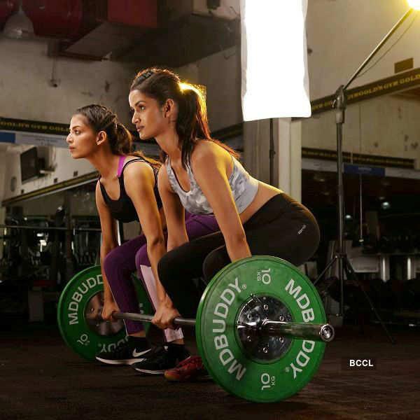 Sanjana Vij and Shivani Jadhav give us fitness goals