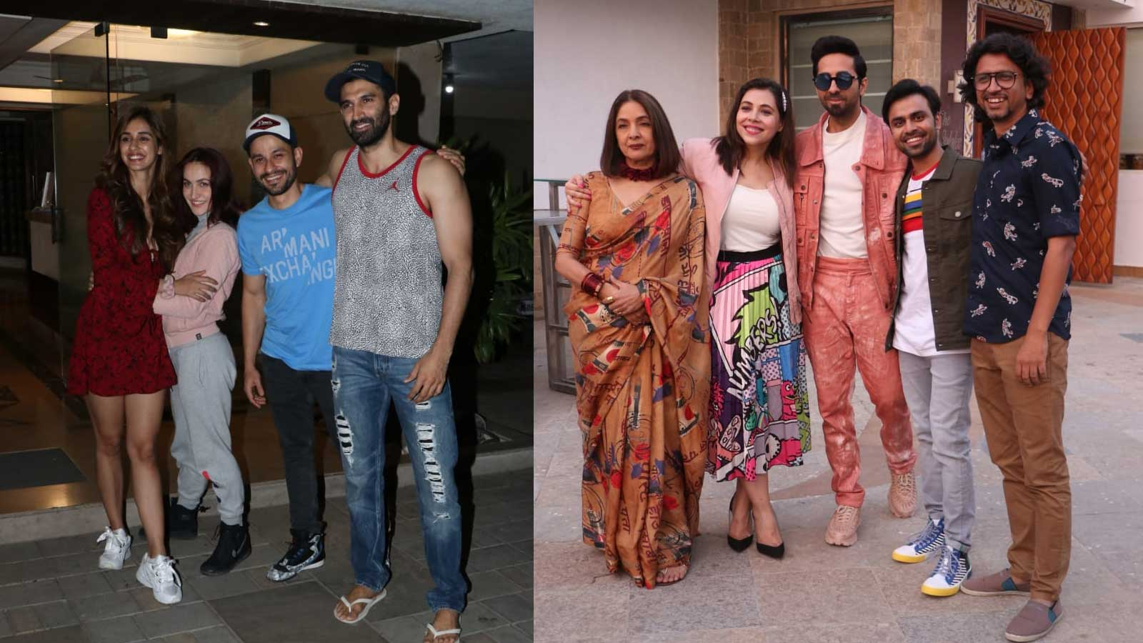 'Malang' along with 'Shubh Mangal Zyada Saavdhan' pose for perfect pictures