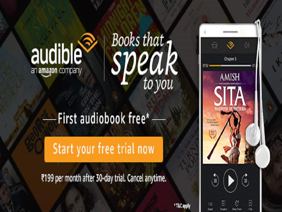 Amazon Audible: Listen to the best of audiobooks by starting your free trial today