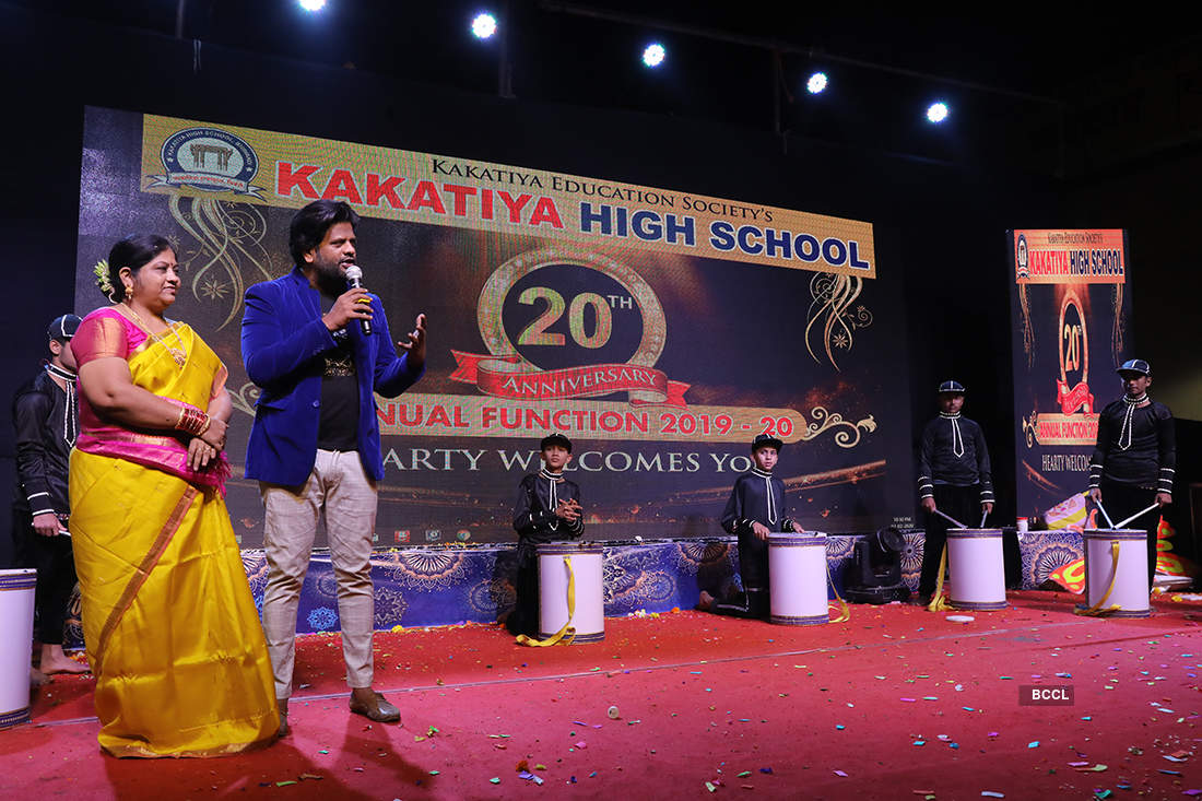Pictures from 20th Anniversary celebration of Kakatiya High School