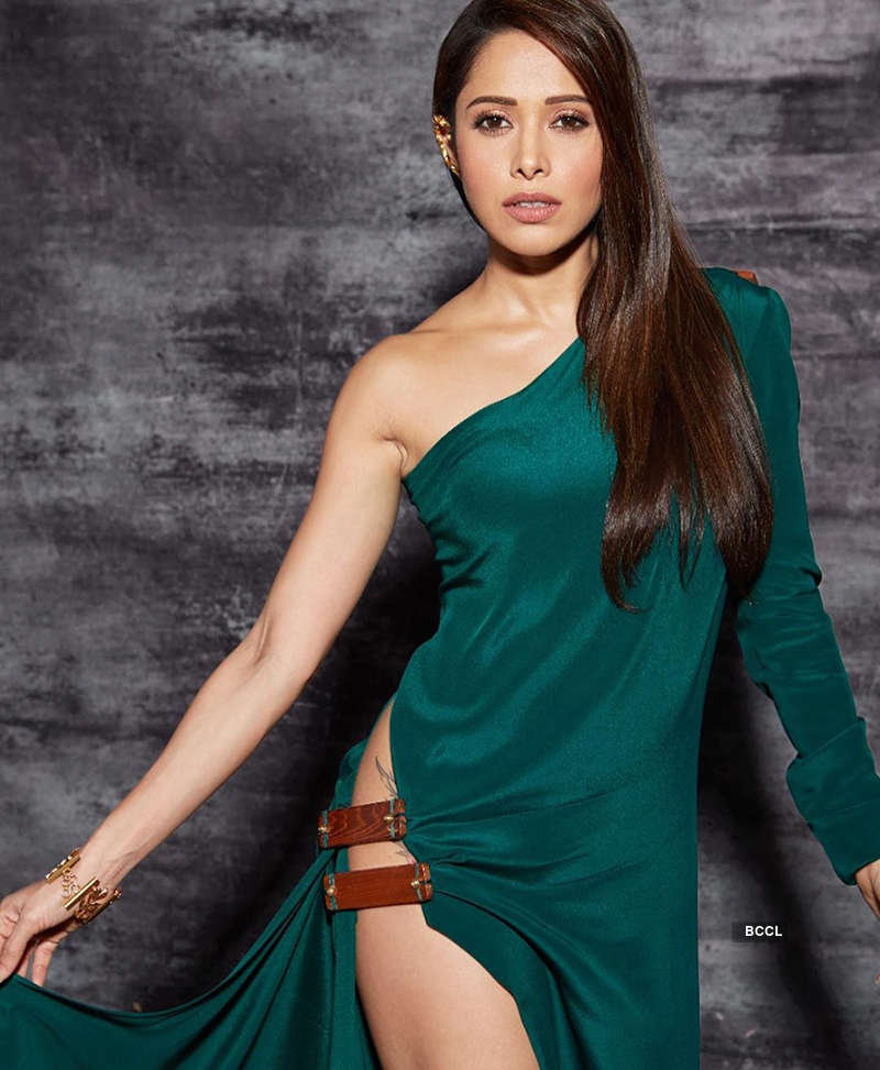 Nushrat Bharucha hits back at trolls slamming her for wearing thigh-high slit gown