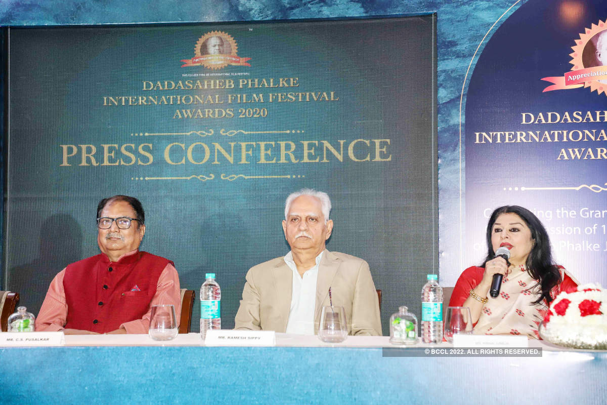 Dadasaheb Phalke International Film Festival Awards: Press conference