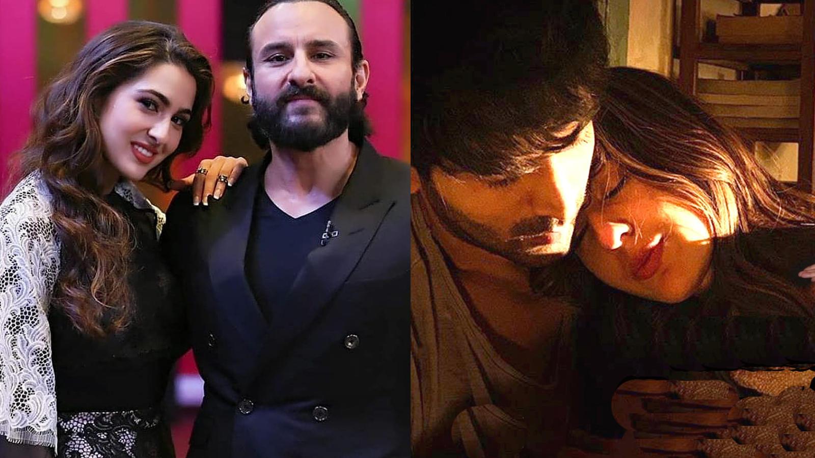 Sara Ali Khan on father Saif Ali Khan's reaction to 'Love Aaj Kal' trailer