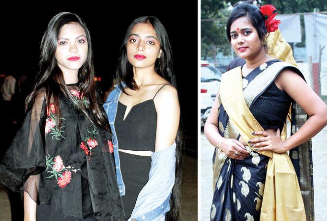 (L) Nancy and Aditi (R) Niveksha Roy (BCCL/ Arvind Kumar)