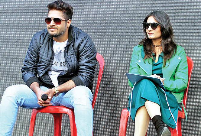 Rohit Chawla and Isha Dang (BCCL/ Arvind Kumar)