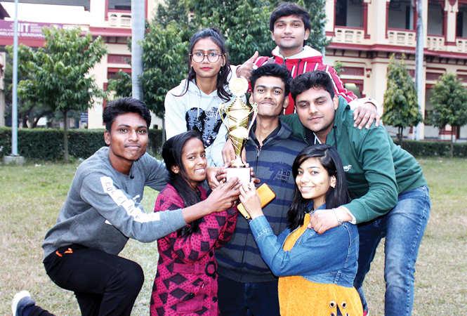 Sahib, Kanchan, Kajal, Aanant, Amit, Aman and Vishkha (BCCL/ Arvind Kumar)