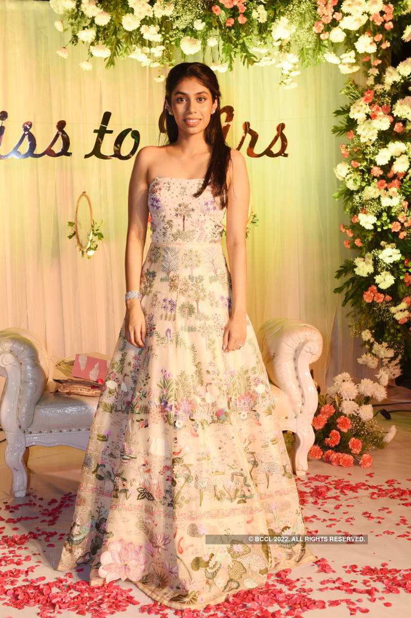 A lavish bridal shower for Kalvakuntla Kavitha's niece Vaishnavi