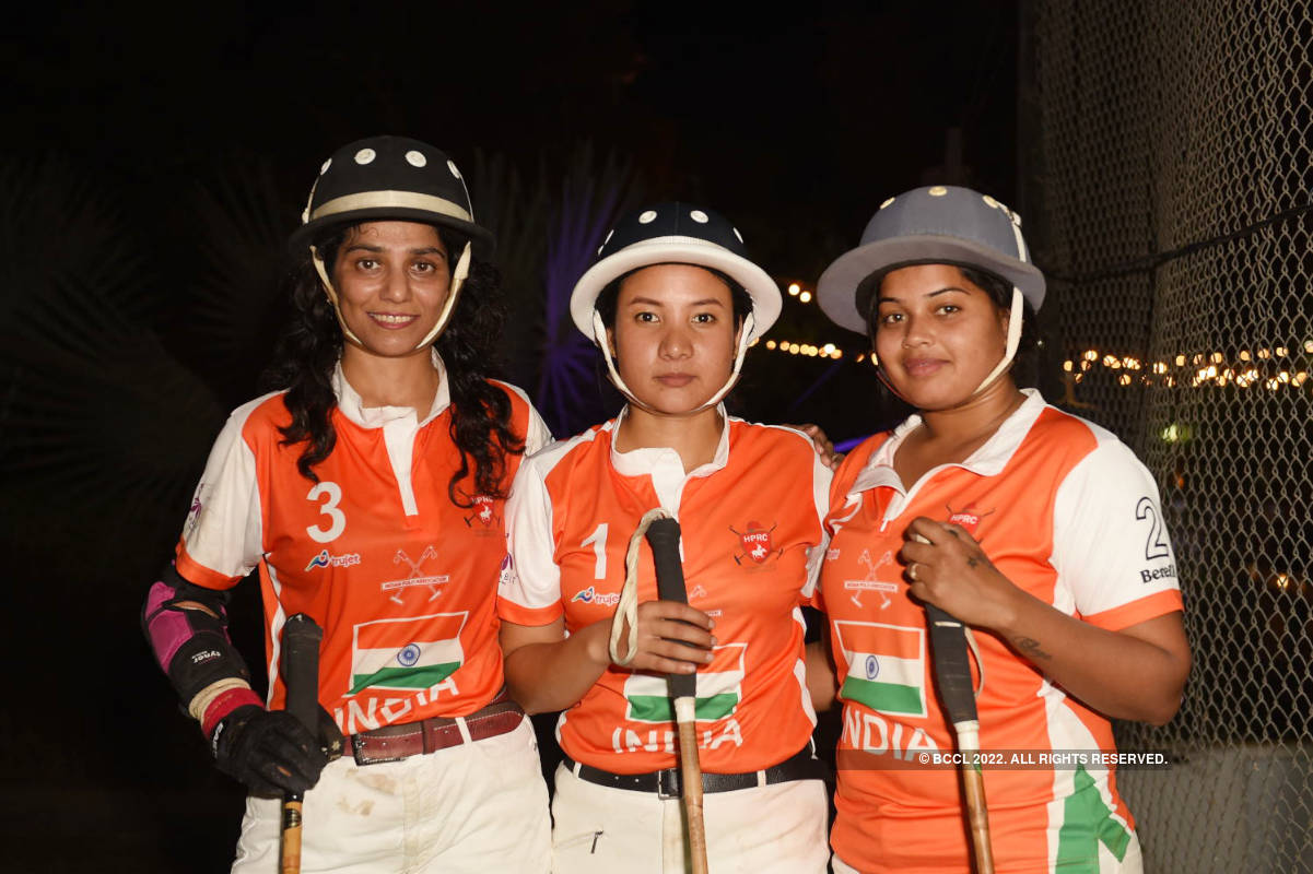 P3Ps attend HPRC International Women's Arena Polo Cup