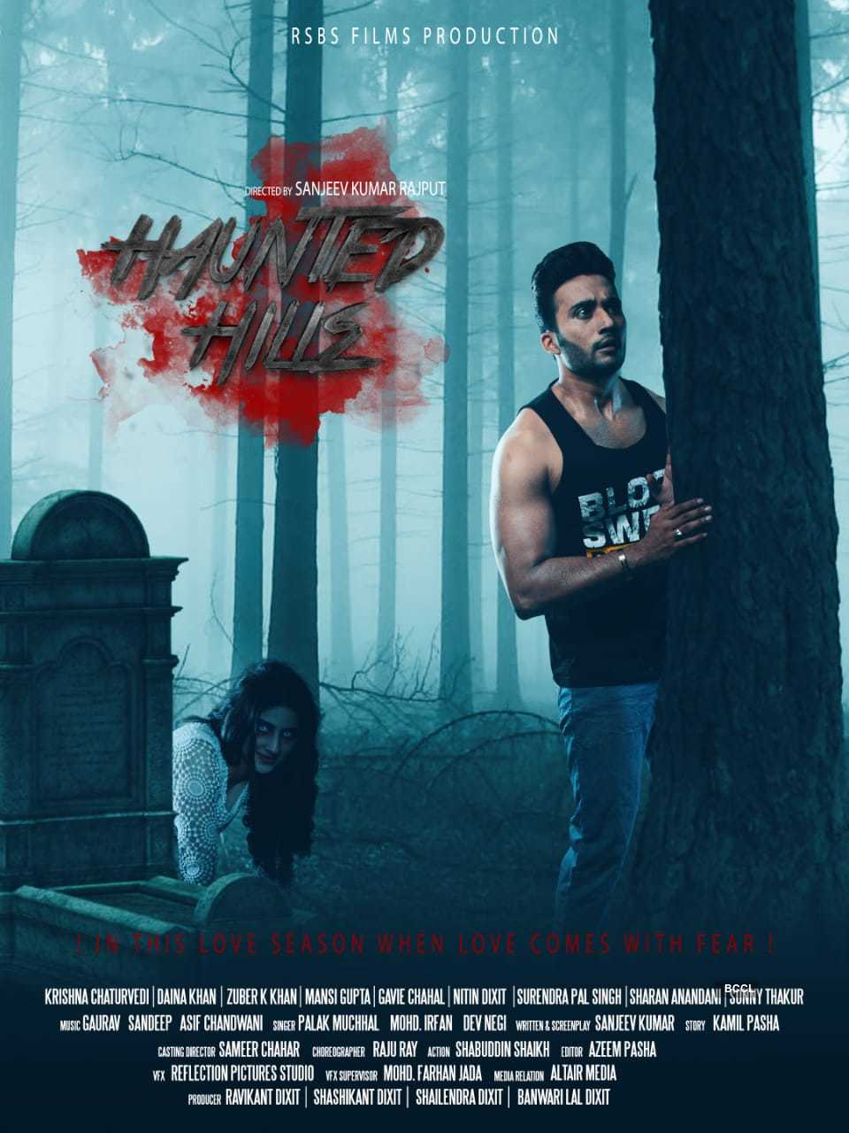 Actor Zuber K Khan starrer 'Haunted Hills' trailer out, see pictures