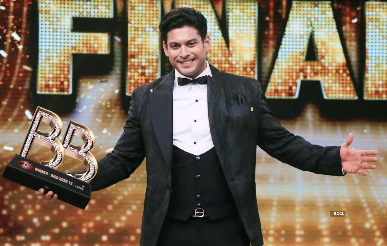 Sidharth Shukla wins Bigg Boss 13