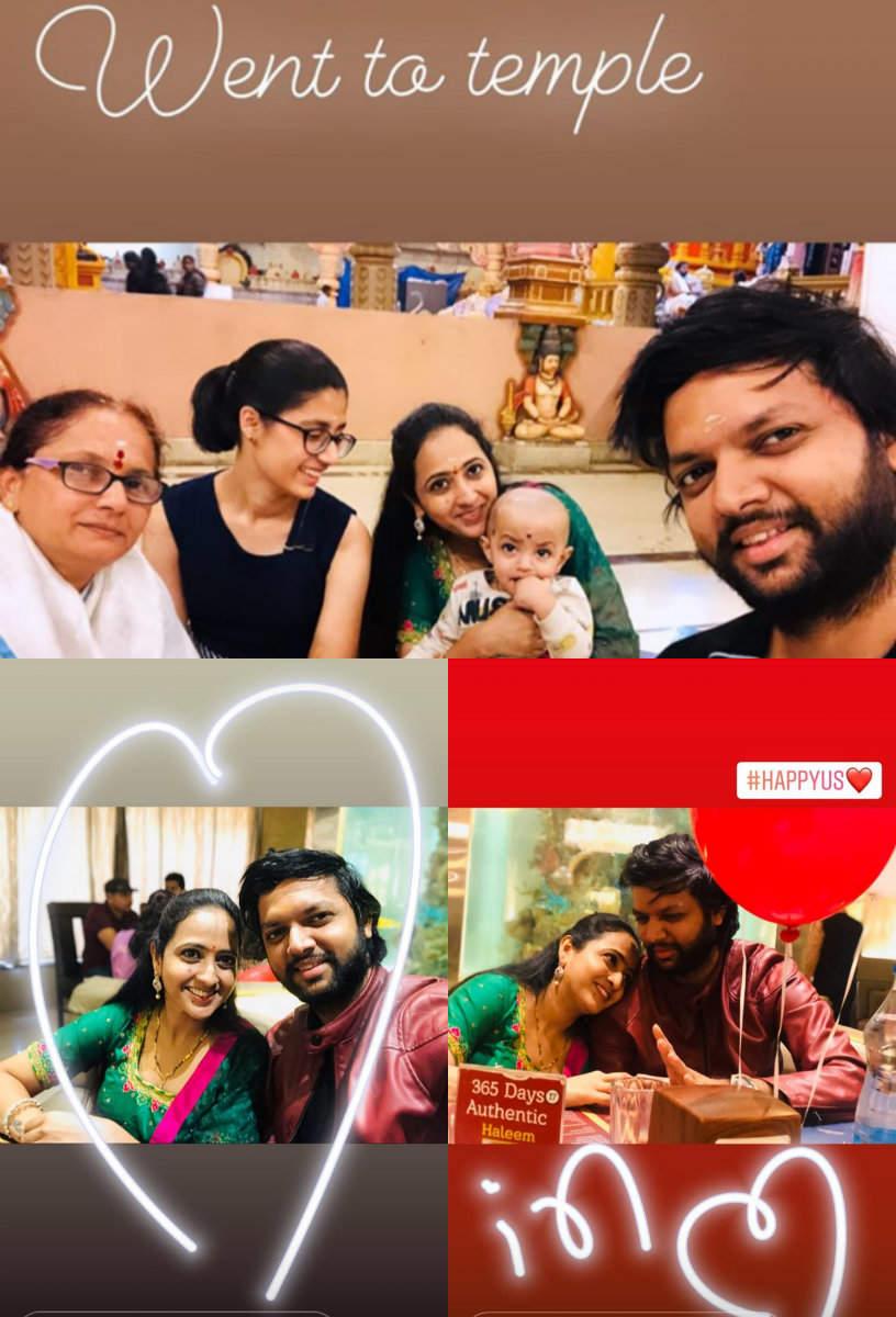 Lasya and Manjunath celebrate 3rd wedding anniversary