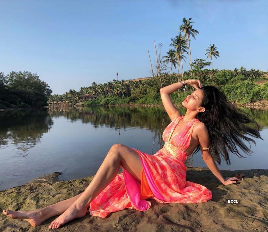 Amyra Dastur is raising temperatures with her glamorous photoshoots