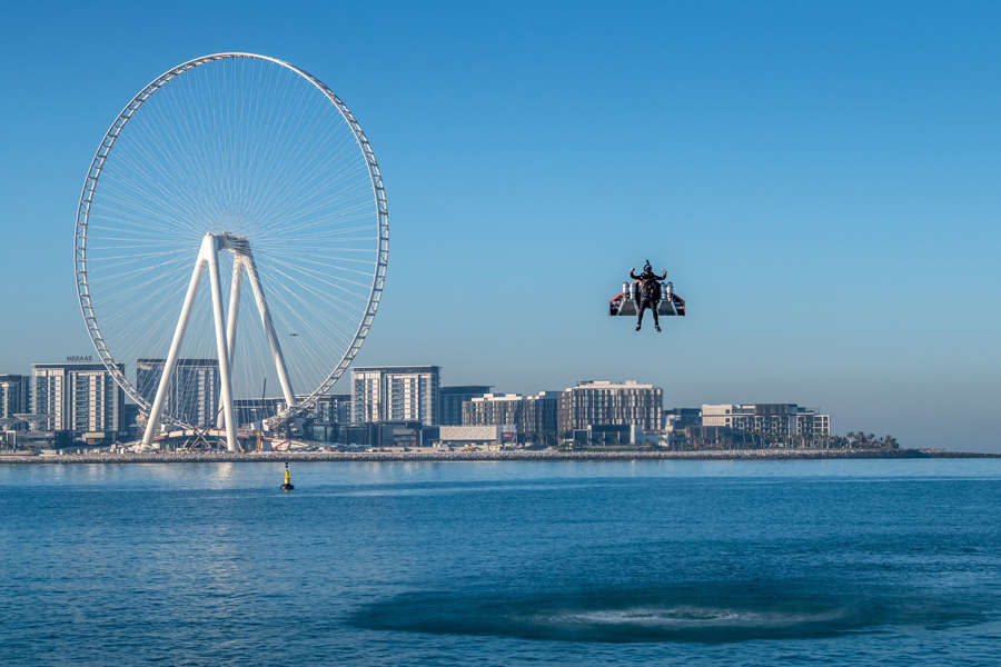 In pics: 'Jetman' soars above Dubai in Iron Man-style