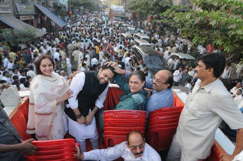1 - Jaya Bachchan and Amar Singh