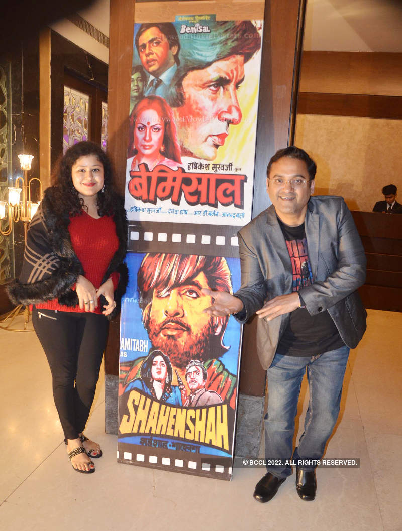Kanpurites enjoy at Amitabh Bachchan themed party