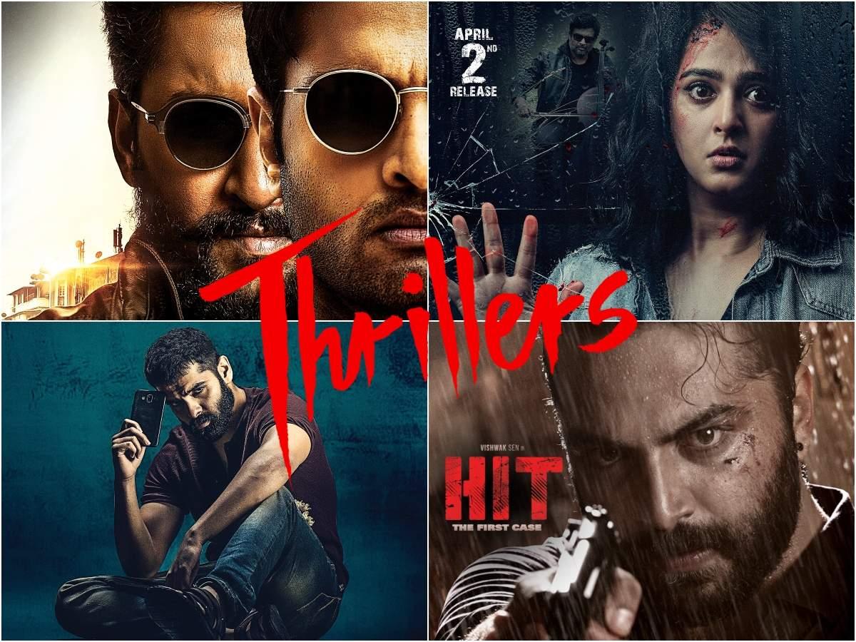 From Vishwak Sen's Hit and Nani's V to Anushka Shetty's Nishabdham, Telugu thrillers to look forward to    The Times of India