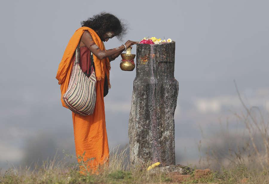 In pics: Devotees celebrate Mahashivratri with religious fervour