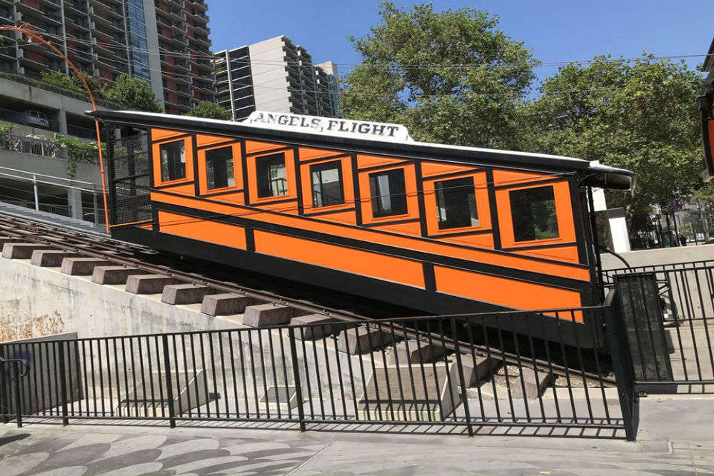 Angels Flight: Journey on world's shortest railway lasts less than a minute!