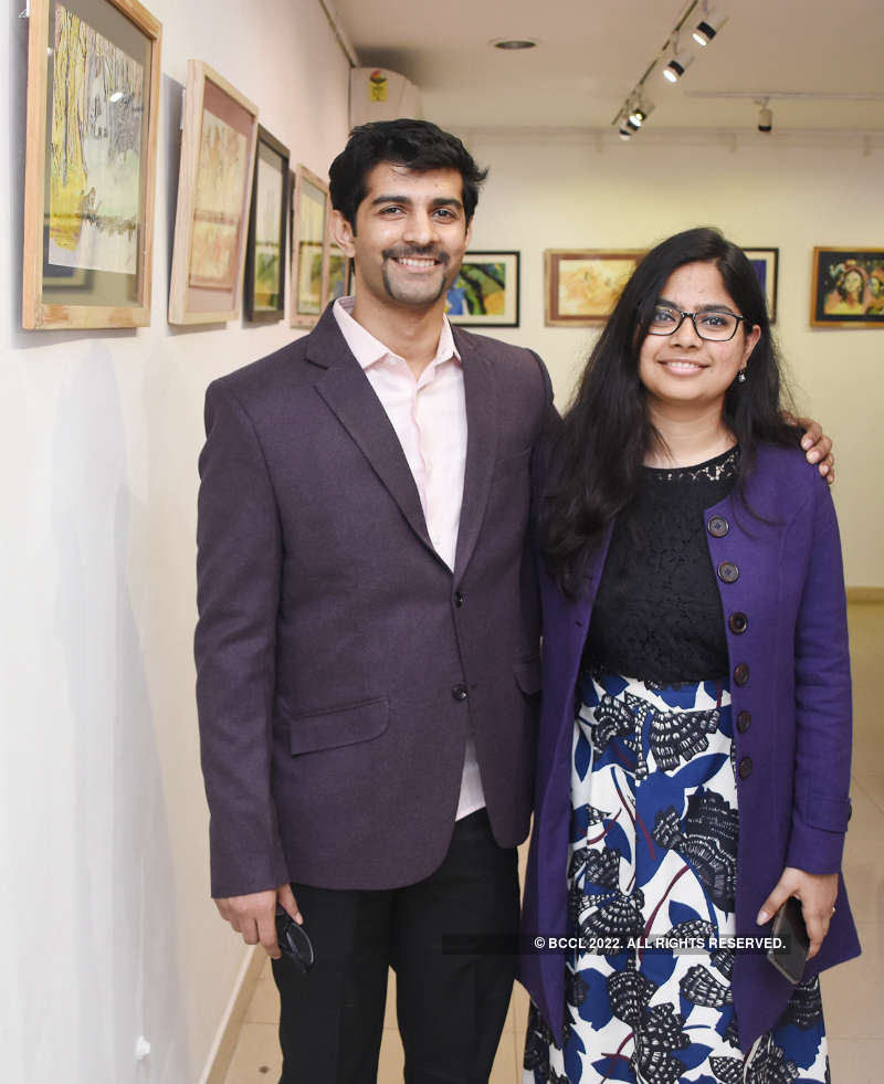 A memorable art exhibition in Lucknow
