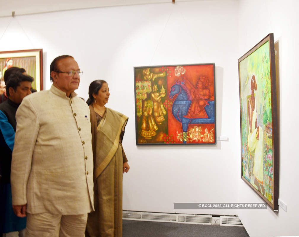 Contemporary art exhibition inaugurated in Jaipur
