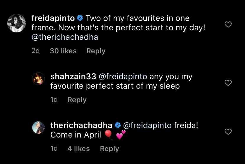 Richa Freida.
