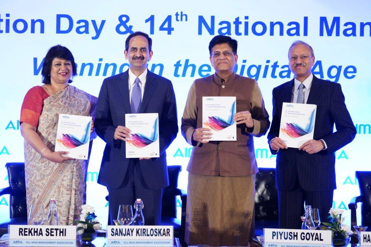Joint efforts are needed to transform India's business ecosystem, says Piyush Goyal