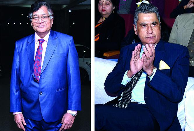 Jitendra Mittal and Maj Gen Pravesh Puri  (BCCL/ Vishnu Jaiswal)