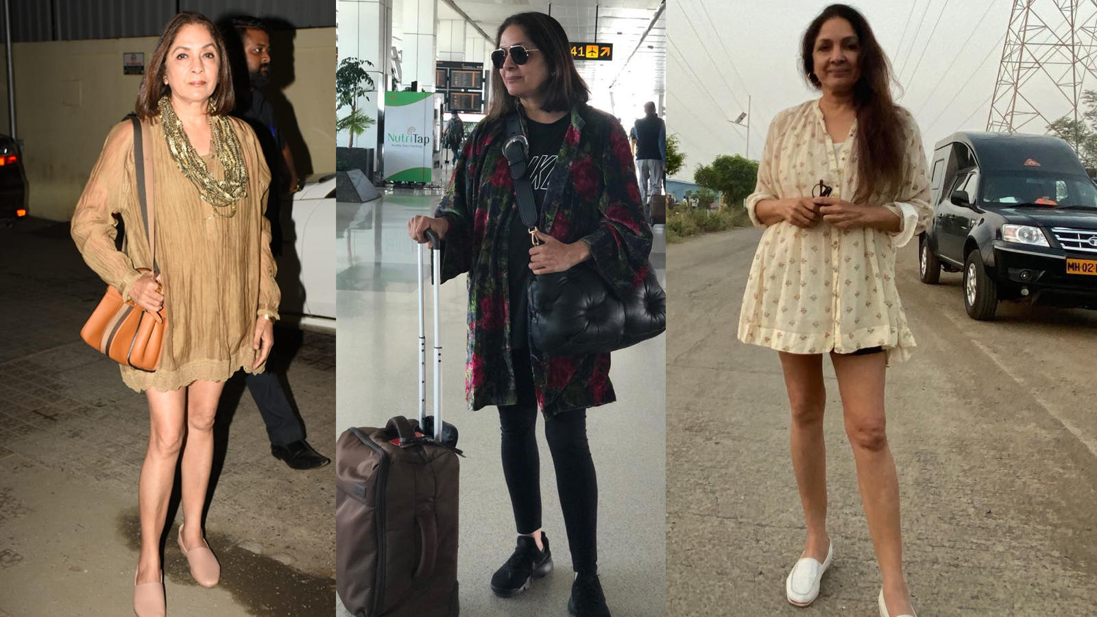 Neena Gupta ditches short dresses, says 'chalo no frock for sometime'