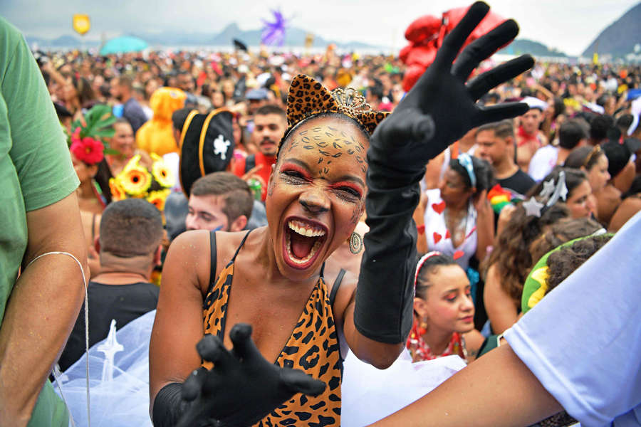 These stunning pictures from Rio Carnival 2020 will blow you mind