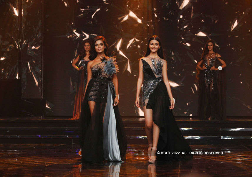 LIVA Miss Diva 2020 Finalists walk the ramp in Designer Gavin Miguel's collection