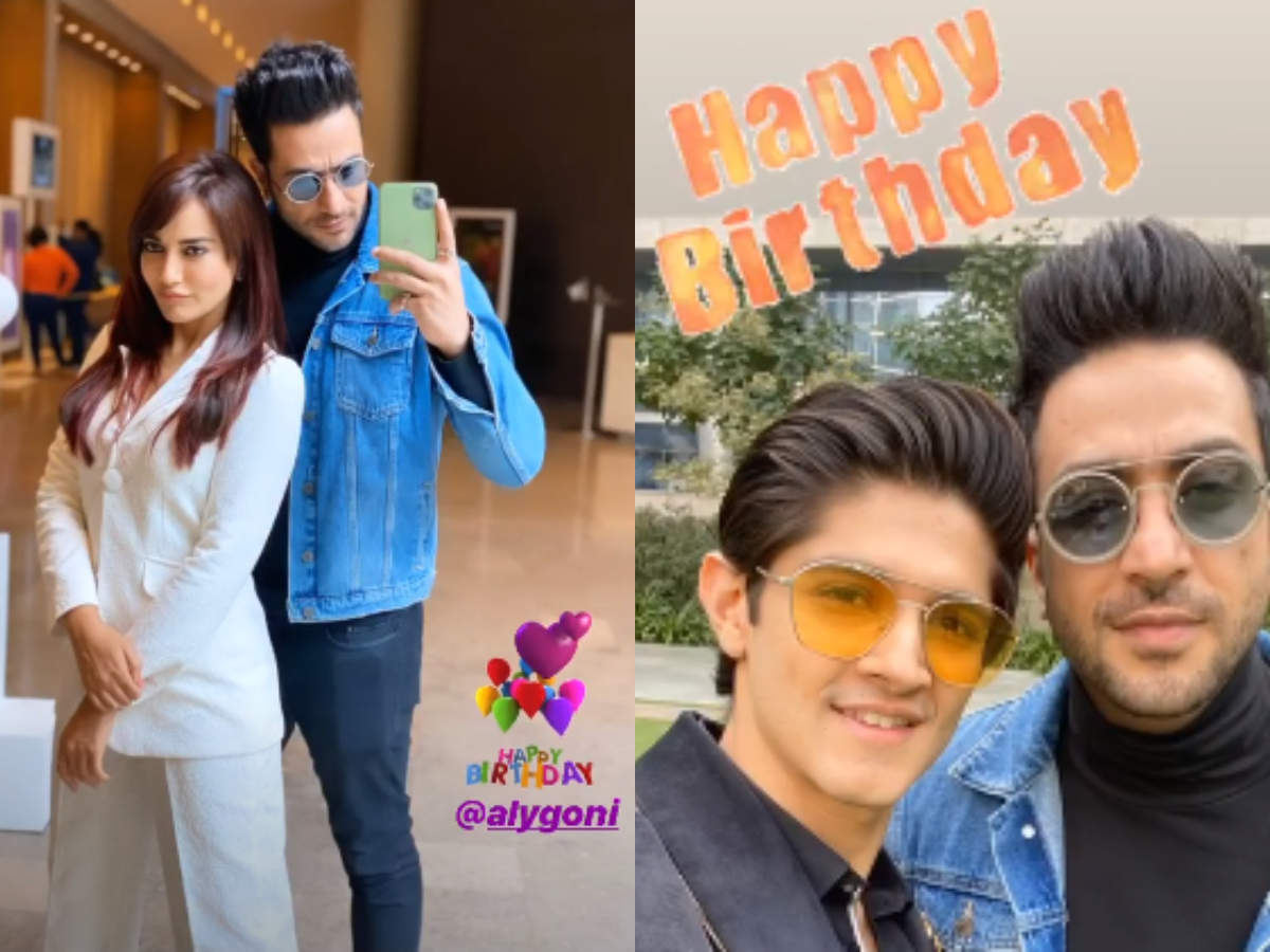 Surbhi Jyoti and Rohan mehra wished Aly goni on his B'day
