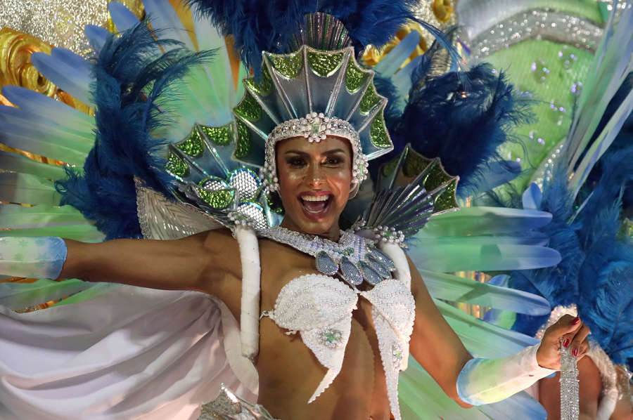 These mesmerising pictures show how revellers enjoyed Rio Carnival 2020