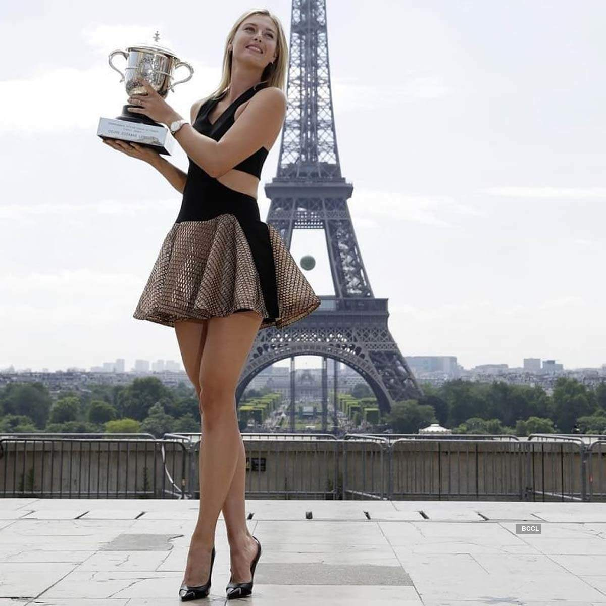 Photos of retired tennis star Maria Sharapova through the years