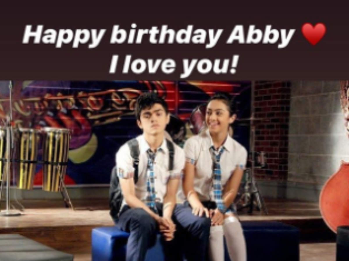 Rohan Shah wishes Abigail Pande on her b'day