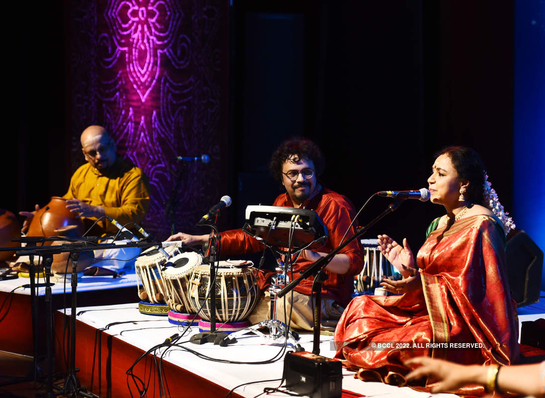 Musicians enthrall the audience at the Omkara concert