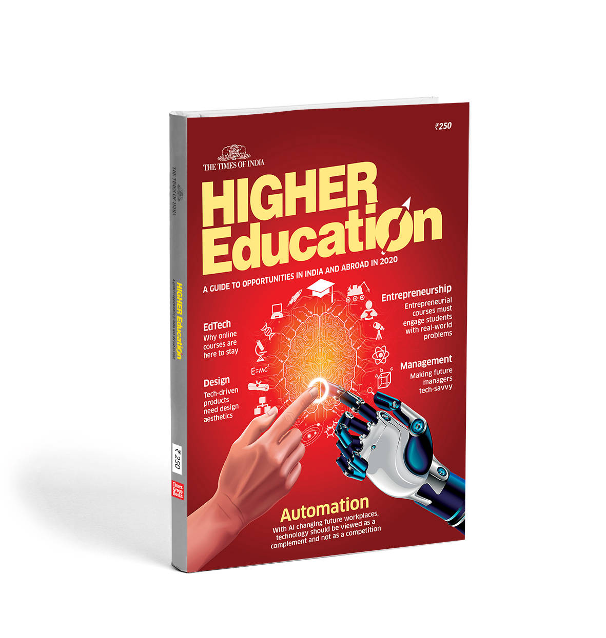 Times Higher Education 2020 available on the stand and online store