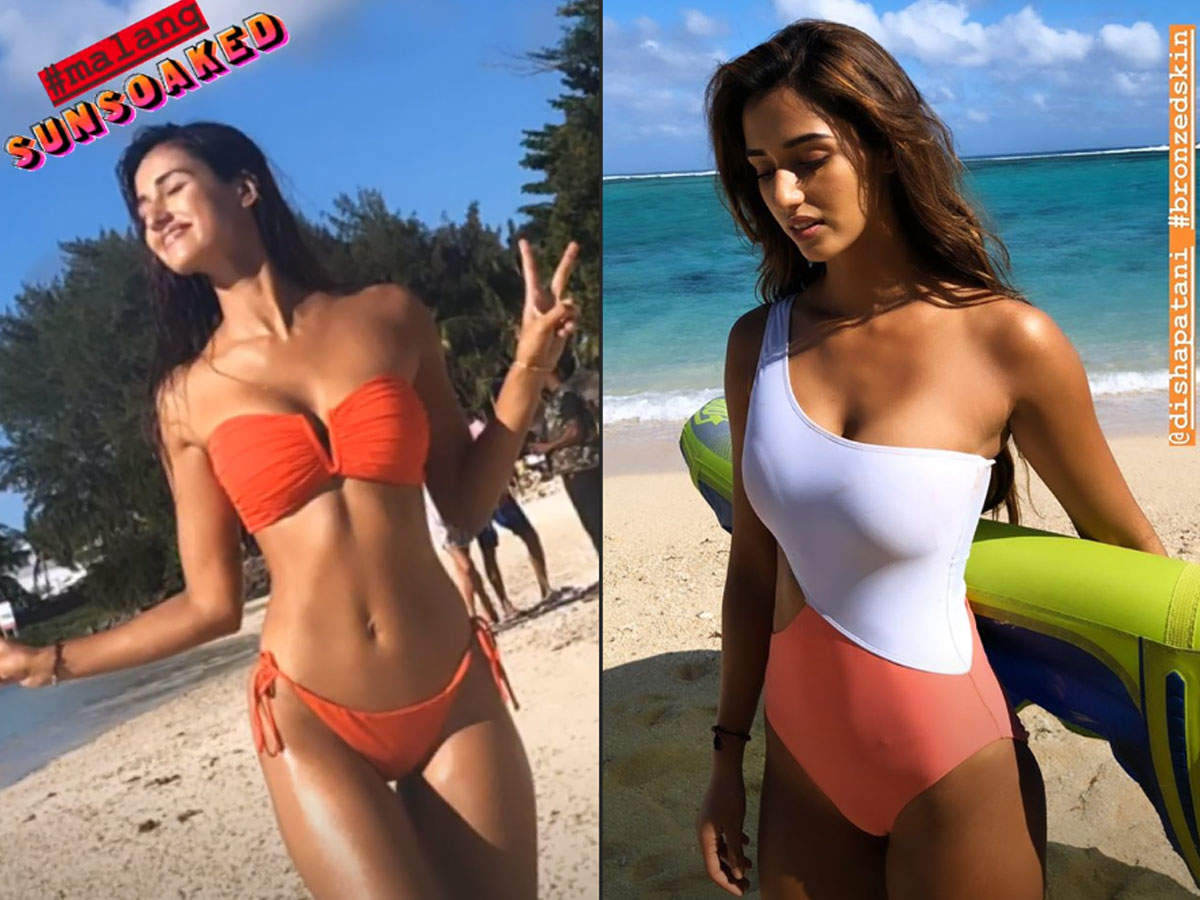 ​Disha Patani's sun-soaked bikini photos are burning up the internet