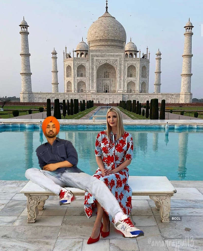 This picture of Diljit Dosanjh with Ivanka Trump goes viral…