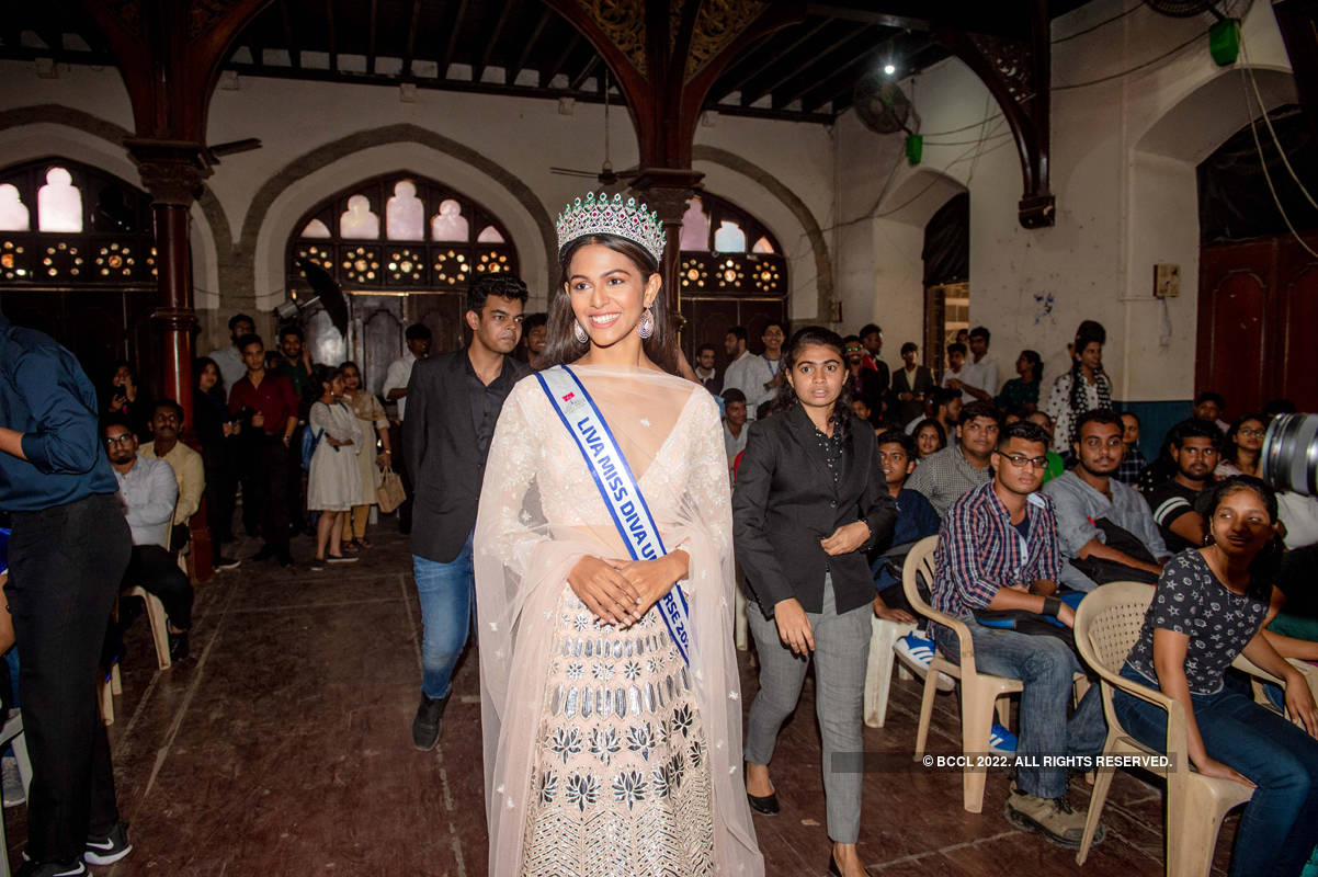 LIVA Miss Diva Universe 2020 Adline Castelino's homecoming ceremony