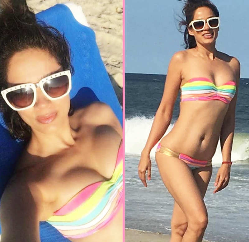 'Chak De! India' actress Vidya Malavade is raising temperatures with her bikini pictures