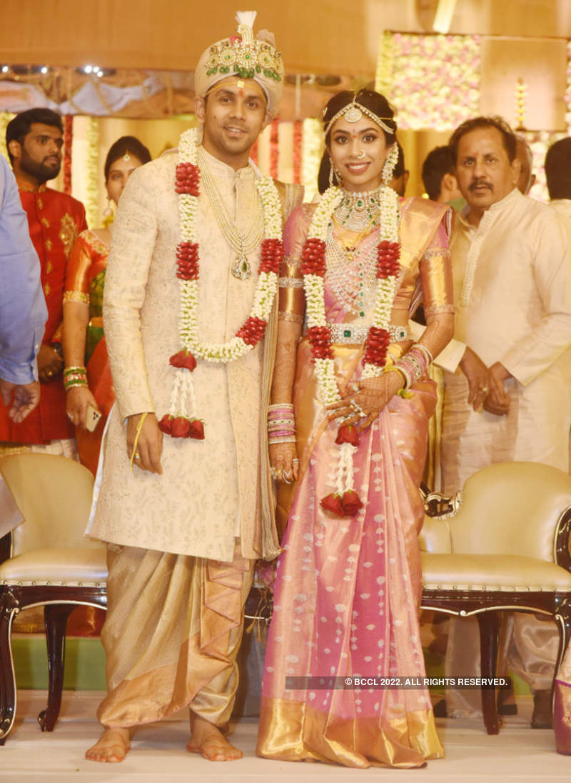 Kavitha's niece Vaishnavi ties the knot in a traditional Telugu ceremony