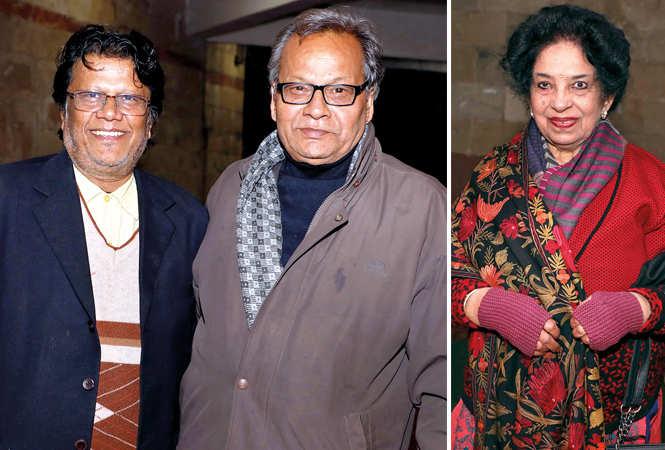 (L) Laraib and Vijay Tiwari (R) Padma Gidwani (BCCL/ Aditya Yadav)