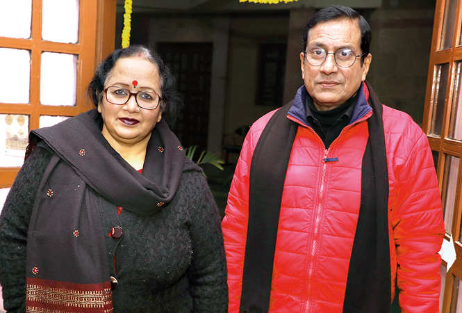 Mamta Saxena and Sangam Bahuguna (BCCL/ Aditya Yadav)