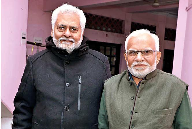 Swatantra Kale and Devendra Modi (BCCL/ Aditya Yadav)