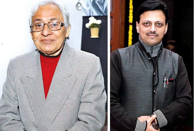 (L) Dr Urmil Kumar Thapliyal (R) Amit Dixit (BCCL/ Aditya Yadav)